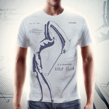 PATENT Golf Club • Fellas - Front & Back All Over Print C©oL Breeze T-Shirt - Chosen Tees