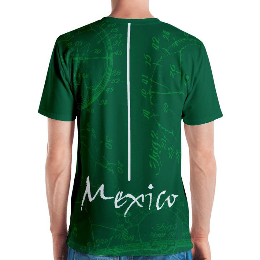 GoOOOAL! MEXICO • Soccer Patent Series Men's T-Shirt - Chosen Tees