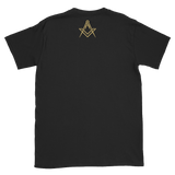 Mason Grail Logo Short-Sleeve Front & Back Print T-Shirt - Chosen Tees