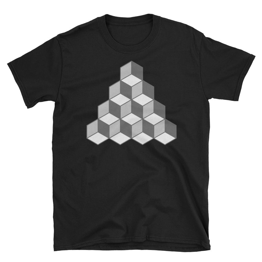 QBert Squares Short-Sleeve T-Shirt - Chosen Tees