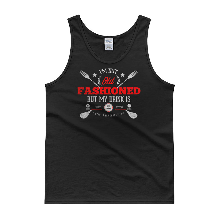 Old Fashioned Tank TOP - Chosen Tees