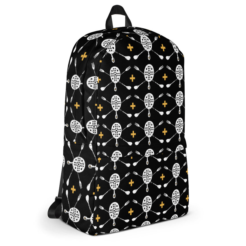 Skull & Spoons Backpack - Chosen Tees