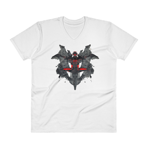 MUSIC iNkBLOT • Fellas - V-Neck T-Shirt - Chosen Tees