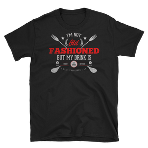 Old Fashioned Short-Sleeve Front & Back Print T-Shirt - Chosen Tees