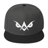 LiGHT-OWL Embroidered SnapBack - Chosen Tees