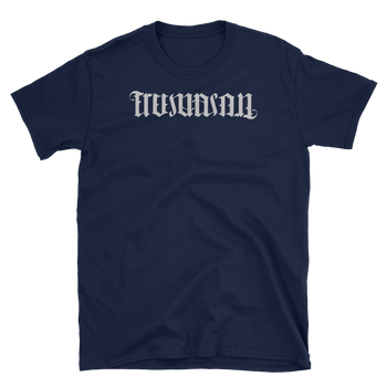 As Above So Below Ambigram Short Sleeve T-Shirt - Chosen Tees