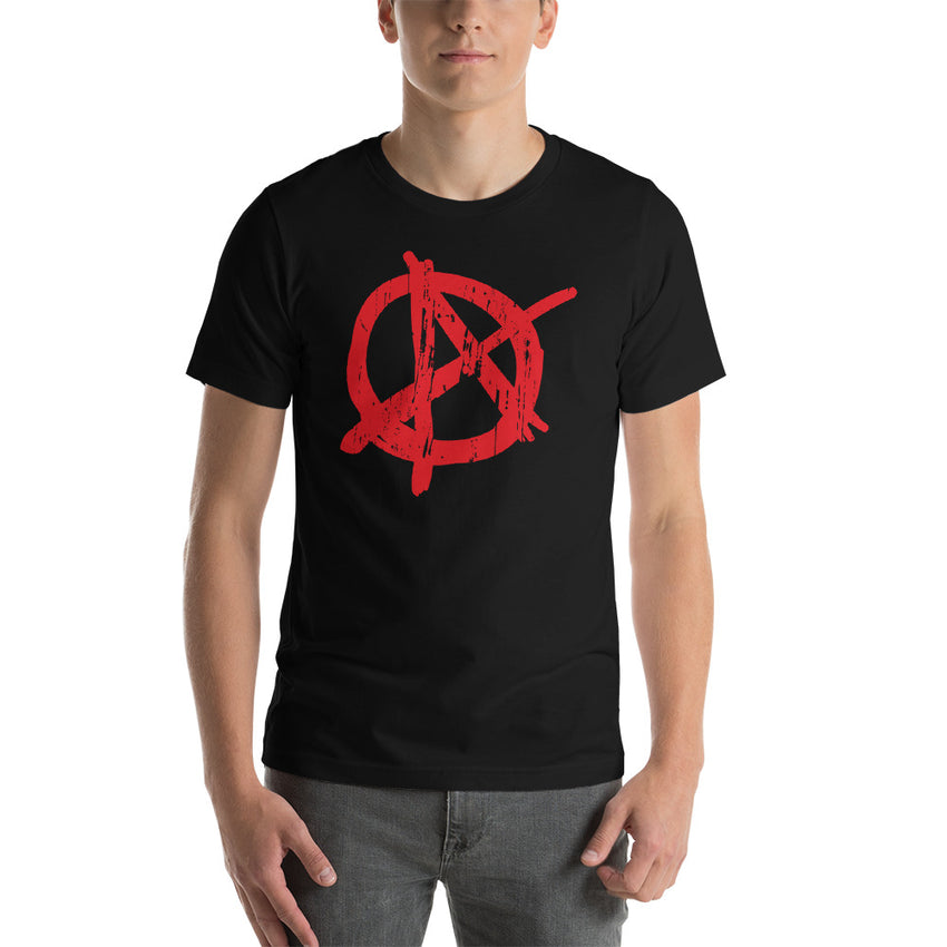ANARCHY Short Sleeve T-Shirt - Chosen Tees