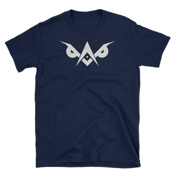 LiGHT-OWL Front & Back Short Sleeve T-shirt - Chosen Tees