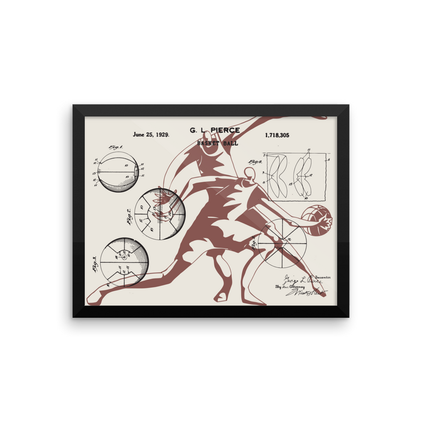 Patent B-Ball • Gallery Piece - Chosen Tees