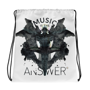 MUSIC iNkBLOT • Drawstring Bag - Chosen Tees