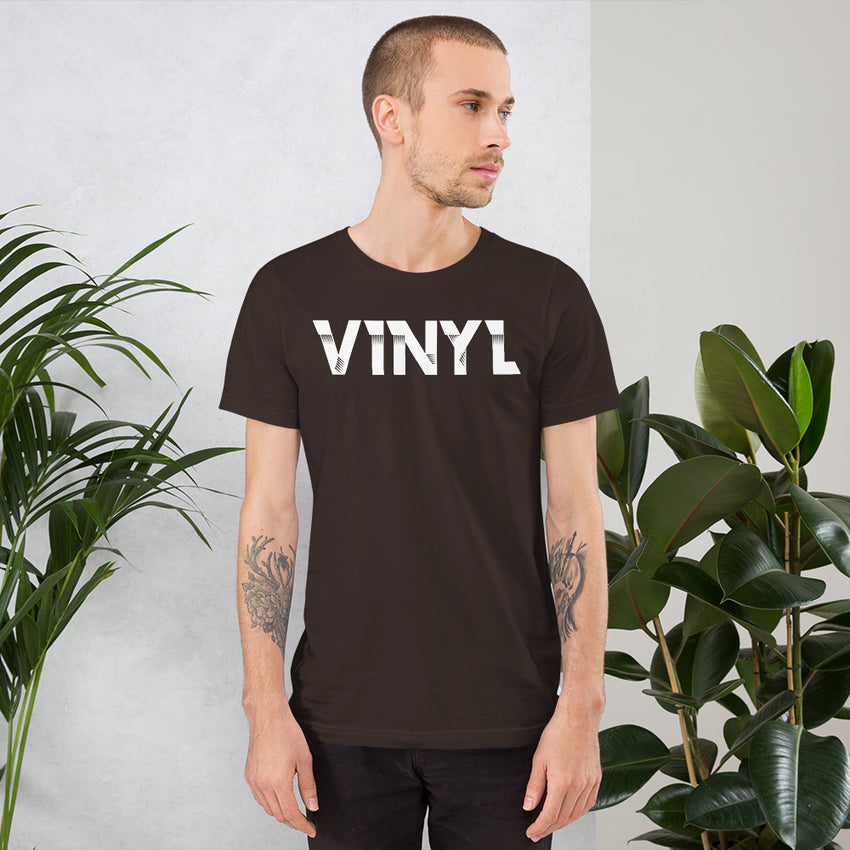 Vinyl Rules Short-Sleeve T-Shirt - Chosen Tees