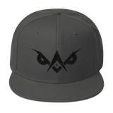 Mason Grail • LiGHT-OWL Stealth SnapBack - Chosen Tees