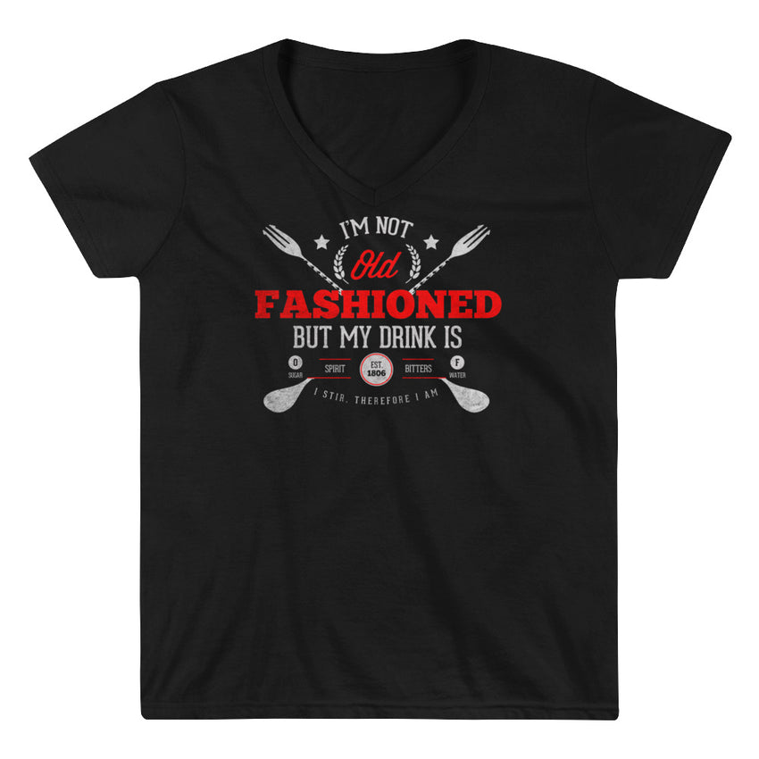 Old Fashioned Casual V-Neck Shirt - Chosen Tees