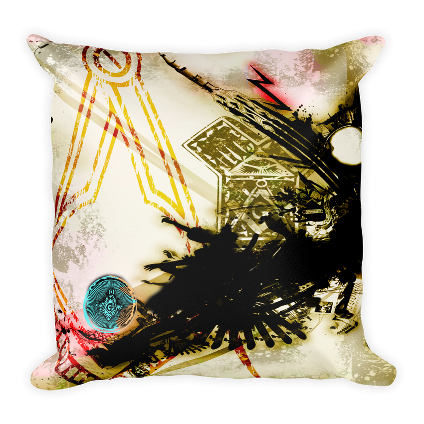 Euclid Front & Back Print Pillow - Chosen Tees