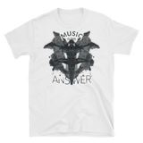 Music iNkBLOT • Fellas - Short-Sleeve White T-Shirt - Chosen Tees