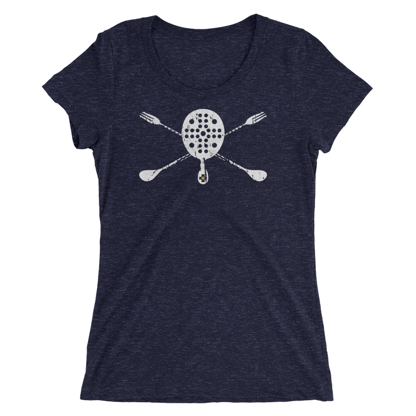 Skull & Spoons • Ladies - BarLIFE Tools Short Sleeve T-shirt - Chosen Tees