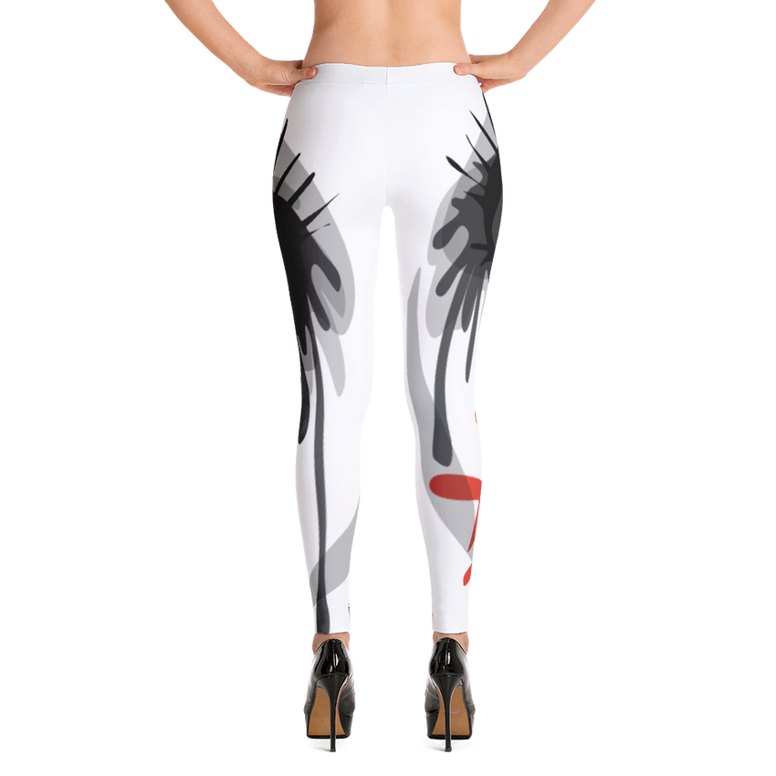 Crazy Sexy COoL All-Over Print Leggings - Chosen Tees