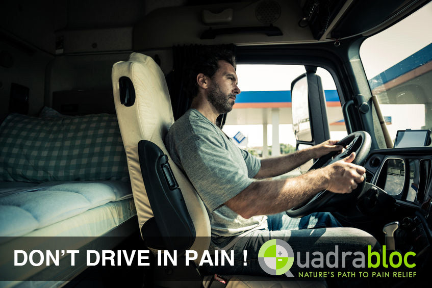 Truck Driver Pain Relieved by Quadrabloc