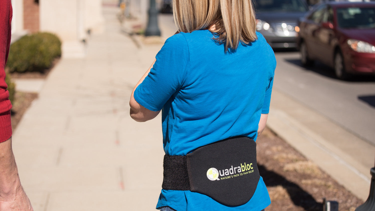 Quadrabloc Pain Relief Back Belts