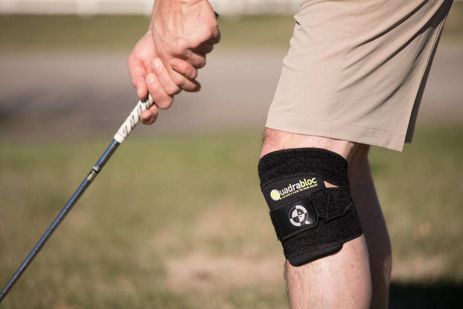 Quadrobloc provides natural pain relief for knee pain
