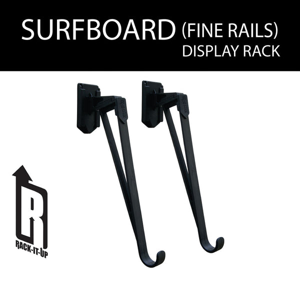 Surfboard Display Rack Fine Rail