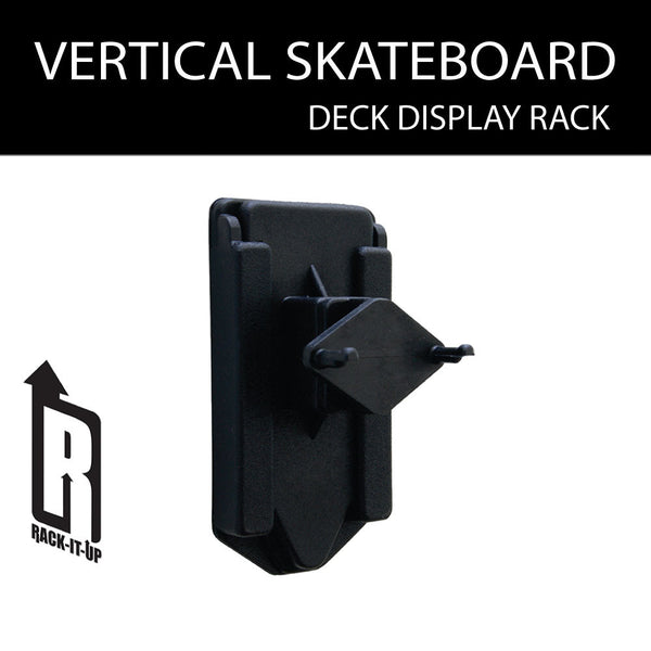 Vertical Skateboard Deck Display Rack