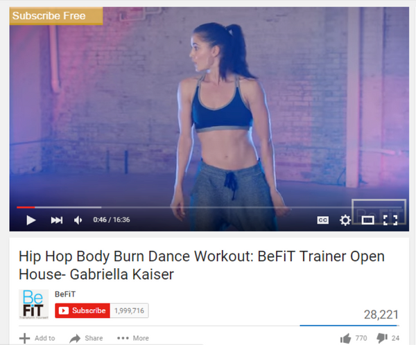 Exercise Anytime, Anywhere: The 5 Best Fitness Channels on YouTube