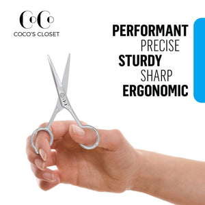Professional Razor Edge Stainless Steel Hair Cutting Shears - Coco's Closet