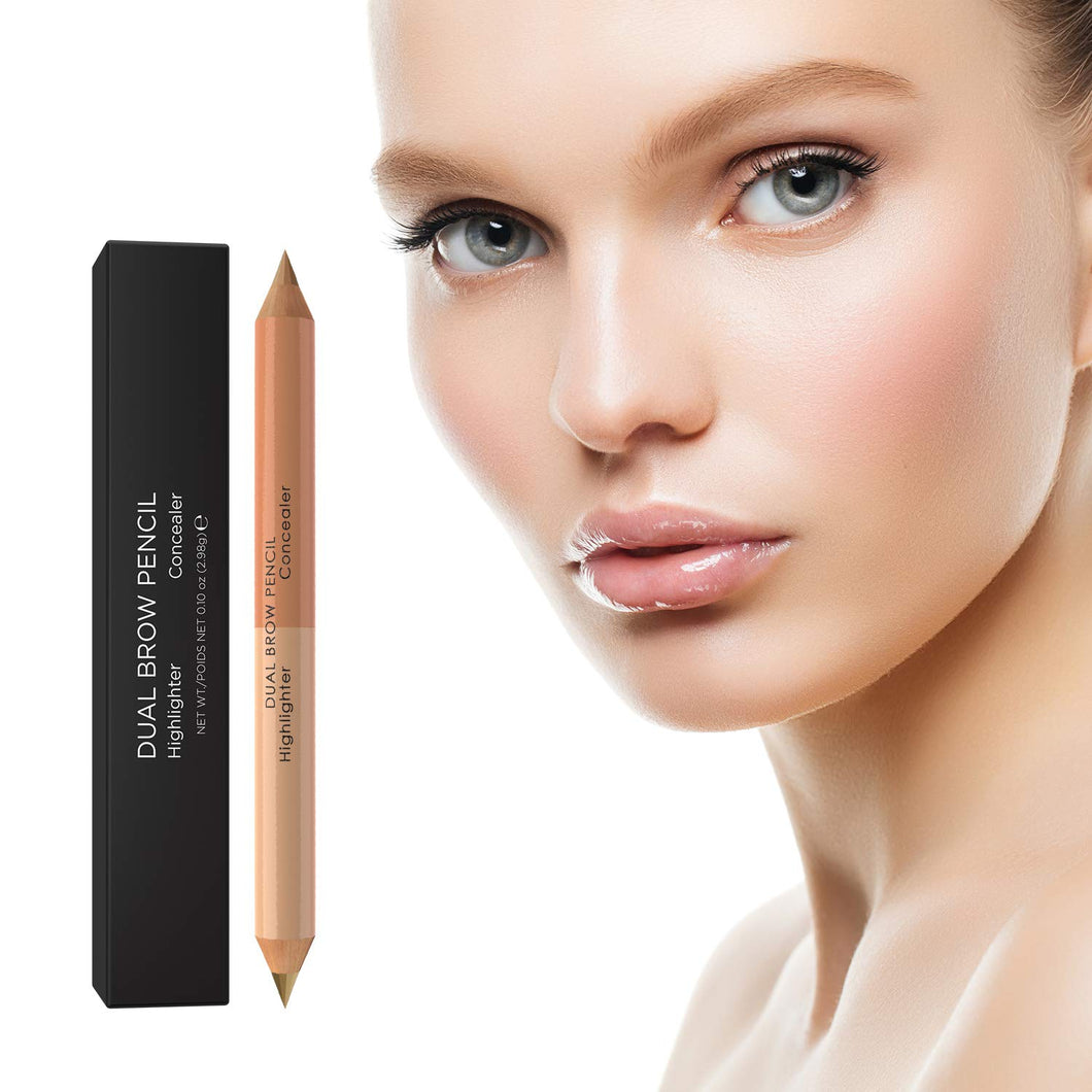 Brow Boss Dual Brow Pencil Concealer & Highlighter - Coco's Closet