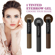 Long-lasting Tinted Brow Gel, Soft Black - Coco's Closet