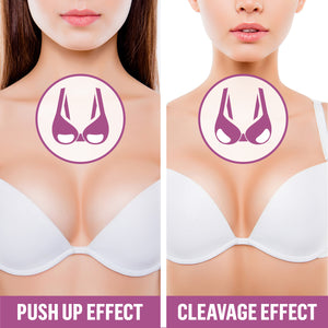 Cleavage Enhancing Clear Silicone Breast Pads - Coco's Closet