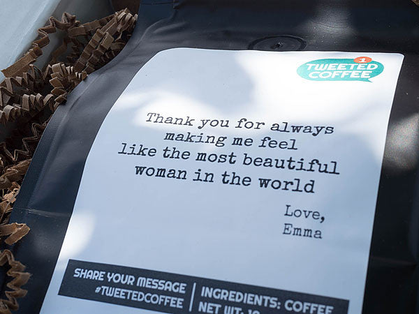 TWEETED COFFEE - PERFECT COFFEE GIFT TO SOMEONE SPECIAL