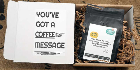 You've got a Coffee Message - Tweeted Coffee