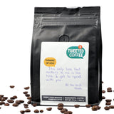 Handwritten Personalized Coffee Gift Message