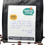 Handwritten Personalized Coffee Gift