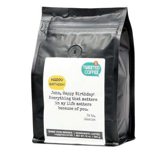 Personalized Coffee Gift - Happy Birthday