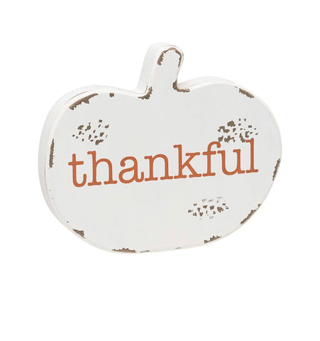 Thankful Cutout Pumpkin