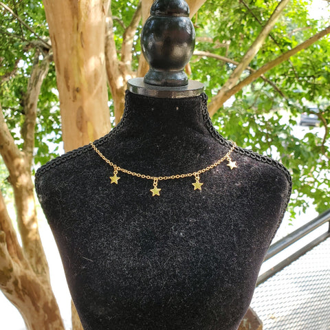 Gold star 14 inch choker with extender