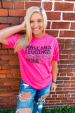 Mascara Leggings Leopard Done Tee