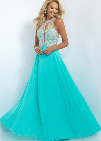 Seafoam Blush Prom Dress