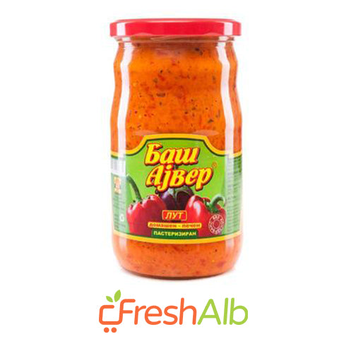 Bash-Ajvar Home Made (Hot) 680gr
