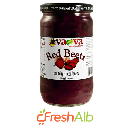 Sliced Red Beets VAVA 680 gram