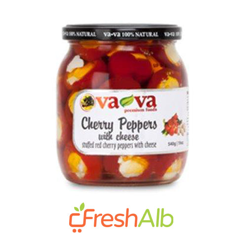 Vava Red Peppers with Cheese 540gr