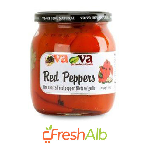 Vava Roast Red Peppers 550gr