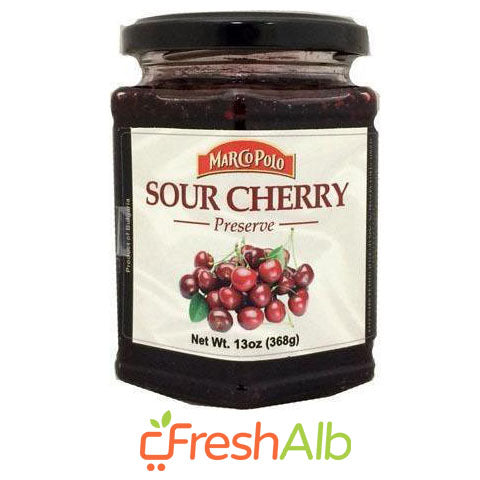 Marco Polo Sour Cherry Jam 370gr