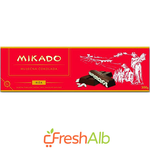 Mikado Chocolate with Rice 300gr