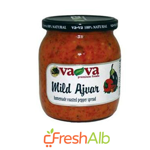 Ajvar Home Made Mild Vava 540 gram