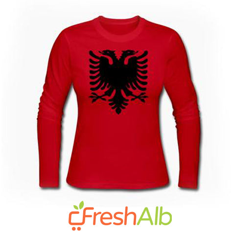 Blouse for women with the Red and Black Eagle