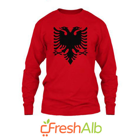 Blouse for men with the Red and Black Eagle