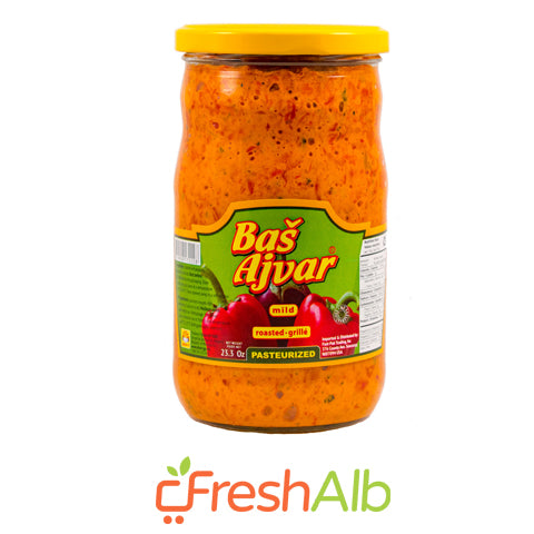 Bash Home Made Ajvar Mild 680 gram